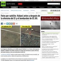 Fotos por satélite: Kobani antes y después de la ofensiva del EI y el bombardeo de EE.UU. - RT