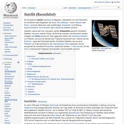 Satellit (Raumfahrt)