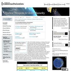 UCS Satellite Database