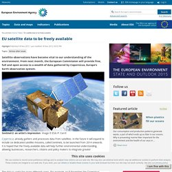 EU satellite data to be freely available