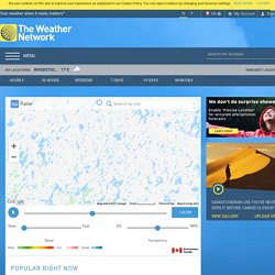 Satellite and Radar: Interactive Weather Maps