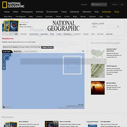 World Map, Online Maps, Satellite Maps - National Geographic