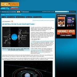 Un satellite de plus pour Neptune !