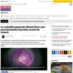 Le satellite japonais Hitomi livre une passionnante nouvelle avant de mourir