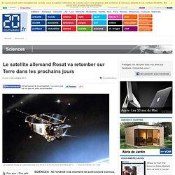 Le satellite allemand Rosat va retomber sur Terre dans les prochains jours