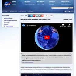 -NOAA Satellite Reveals New Views of Earth at Night
