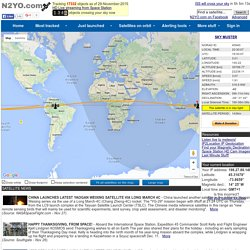 REAL TIME SATELLITE TRACKING