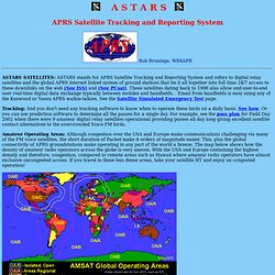 ASTARS: an APRS Satellite Tracking and Reporting System