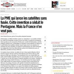 La PME qui lance les satellites sans fusée. Cette invention a séduit le Pentagone. Mais la France n'en veut pas.