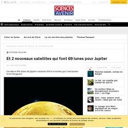 2 nouveaux satellites rejoignent la famille de Jupiter