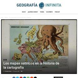 Los mapas satíricos en la historia de la cartografía