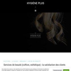 Services de beauté : la satisfaction des consommateurs
