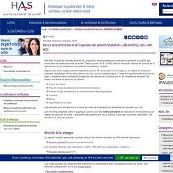 Mesure de la satisfaction et de l'expérience des patients hospitalisés + 48h en MCO (e-Satis +48h MCO)