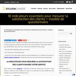 La satisfaction de la clientèle : Comment la mesurer & questionnaire inclus