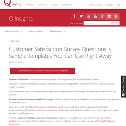 Customer Satisfaction Survey Questions: 5 Free Templates