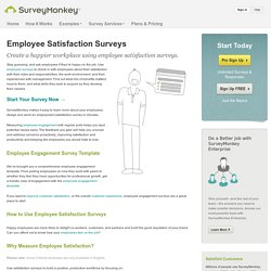 Employee Satisfaction Survey: Templates and Questions
