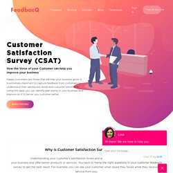 15+ Free Customer Satisfaction Survey (CSAT) Form Templates