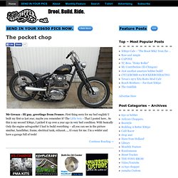 XS650 Chopper Satisfying Your Yamaha XS 650 Chopper/Bobber Addiction!
