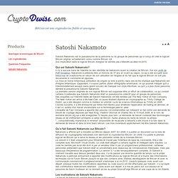 Satoshi Nakamoto - Bitcoin