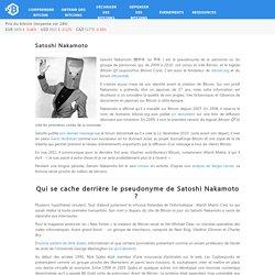 Satoshi Nakamoto – Bitcoin.fr