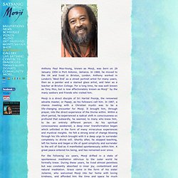 satsang with mooji - biography