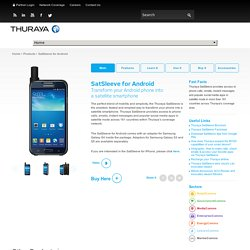 SatSleeve for Android
