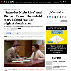 """Saturday Night Live"" and Richard Pryor: The untold story behind ""SNL's"" edgiest sketch ever"