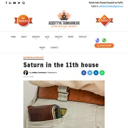 Saturn in the 11th house