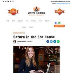 Saturn in the 3rd House