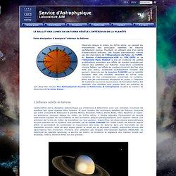 La formation de Saturne