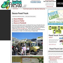 Food Truck Fiesta - a real-time automated DC food truck tracker