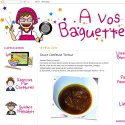 Sauce Coréenne Tategui
