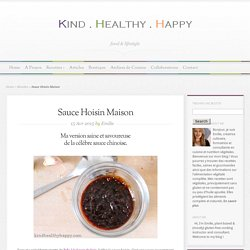 Sauce Hoisin Maison - Kind∙Healthy∙Happy