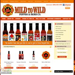 Hot Sauce, BBQ Sauce & Extracts - Mild to Wild® Pepper & Herb Co.