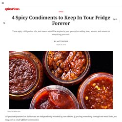 4 Asian Chili Sauces You Should Always Have In Your Fridge