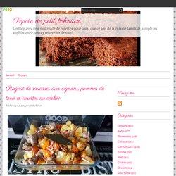 Ragoût de saucisses aux oignons, pommes de terre et carottes au cookéo