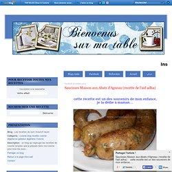 Saucisses Maison aux Abats d'Agneau (recette de l'aid adha)