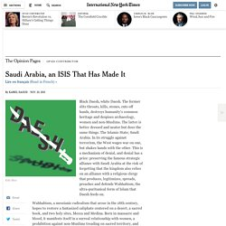 Saudi Arabia, an ISIS That Has Made It