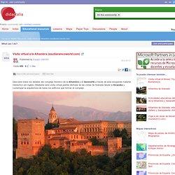Visita virtual a la Alhambra (saudiaramcoworld.com