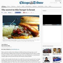 Sauerkraut Burger