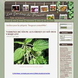 Saugaves comestibles - les jardins de pomone