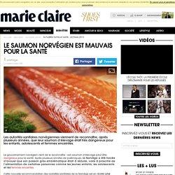 Le saumon norvégien est mauvais pour la santé