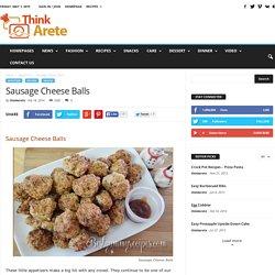 Sausage Cheese Balls - Food Recipes