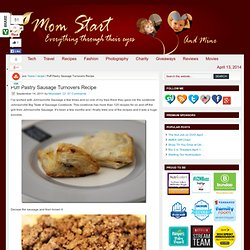 Puff Pastry Sausage Turnovers Recipe