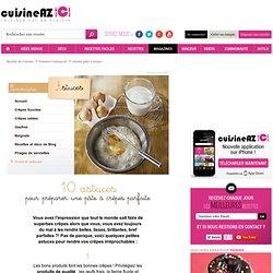 Réussir pâte à crêpes : La recette idéale de réussir pâte à crêpes sur Cuisine AZ.