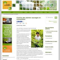 Cuisine des plantes sauvages et comestibles » La maison de l'écologie