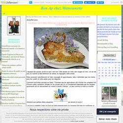 Gâteau aux prunes sauvages et aux amandes en deux versions - Bon Ap chez Mamounette