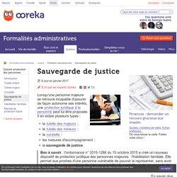 Sauvegarde de justice - Ooreka