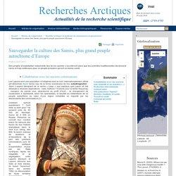Sauvegarder la culture des Samis, plus grand peuple autochtone d'Europe - Recherches Arctiques