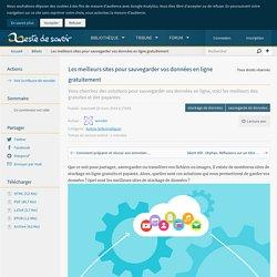 Les meilleurs sites pour sauvegarder vos données en ligne gratuitement